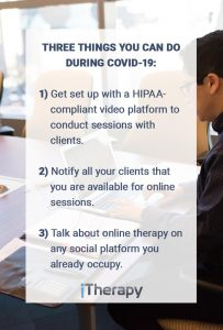 Three Things You Can Do During COVID-19
