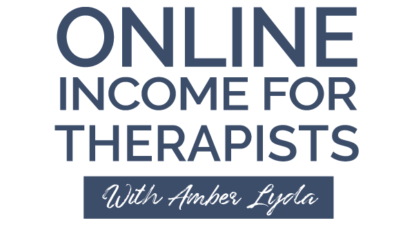 Online Income for Therapists Logo