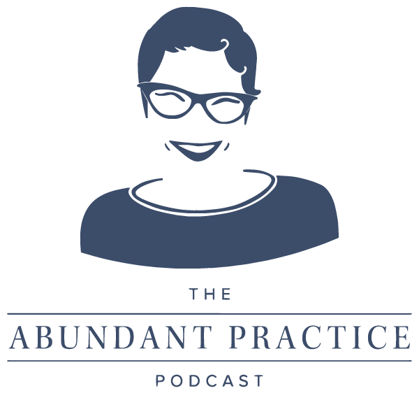 The Abundant Practice Podcast Logo
