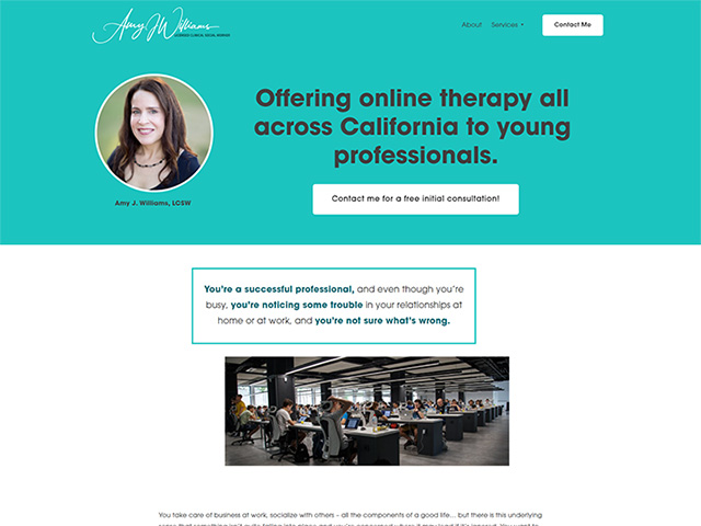 Amy J. Williams, LCSW - Standard Site by iTherapy