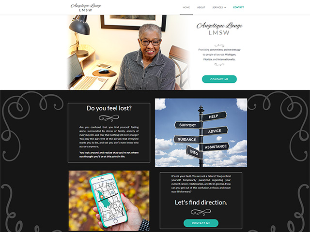 Angelique Lange, LMSW - Premium Site by iTherapy