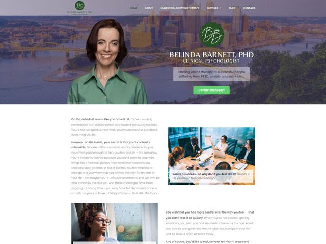 Dr. Belinda Barnett - Premium Site by iTherapy
