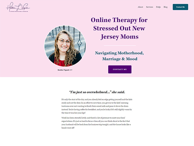 Heather Vignali, LPC - Standard Site by iTherapy