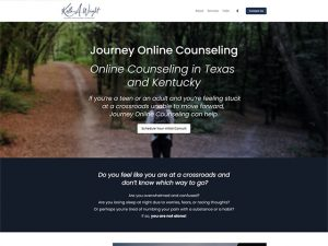 Journey Online Counseling - Standard Site by iTherapy