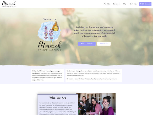 Monarch Counseling Group - Premium Site by iTherapy