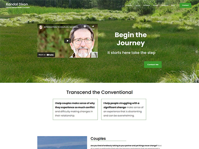 Randal Dixon Counseling - Standard Site by iTherapy