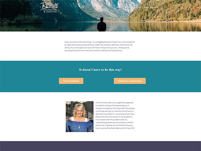 Revive Counseling & Coaching - Premium Site by iTherapy