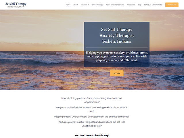 Set Sail Therapy - Standard Site by iTherapy